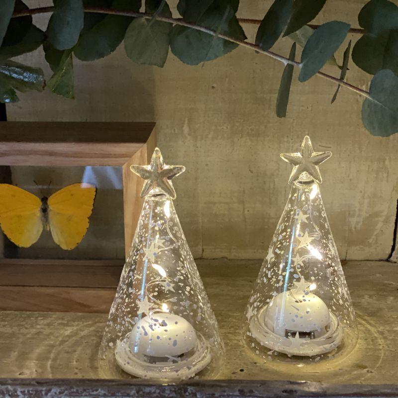 Lampara árbol de navidad (pack de 2)