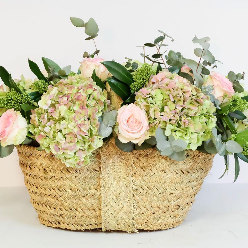Cesta Grande con Flores
