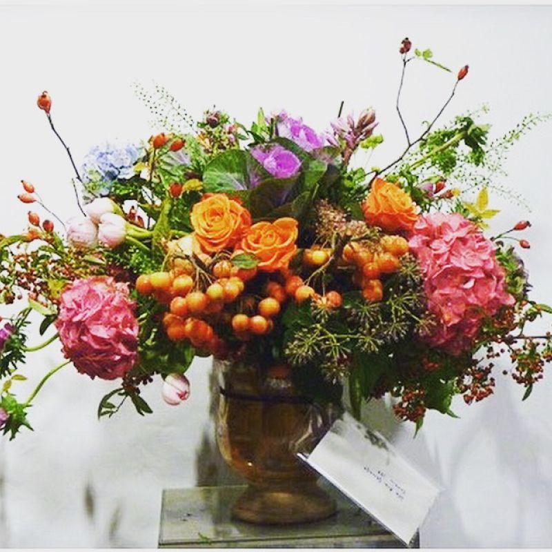Cerámica con Flores