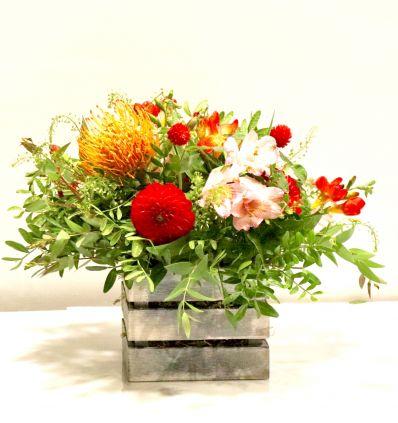 cajita de Flor de Temporada